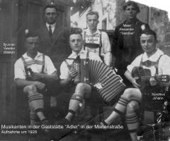Adler Musikanten 1928
