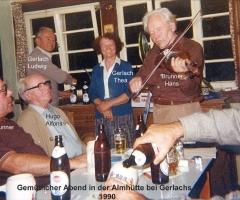Almhütte Gastwirt Gerlach 1990