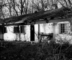 Almhütte vormals Kinderheim vor Abriss