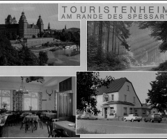 Ansichtskarte Touristenheim Adam Wehr 1960