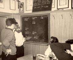 Zur Gemütlichkeit Bischbergstr Kegelbahn 1961
