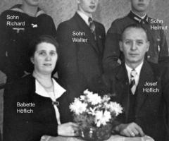 Ratsstube Wirtsleute Höflich 1935-1958