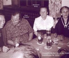 Ratsstube Gemütliches Beisammensein 1952
