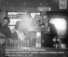 Ratsstube Schwojer Kerb 1952