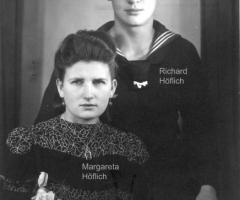 Ratsstube Wirtsleute Margareta u. Richard Höflich 1958-1977