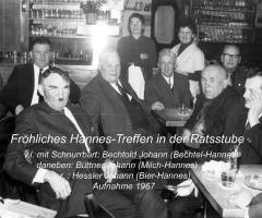 Ratsstube Hannes-Treffen 1967