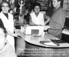 Ratsstube Personal 1969