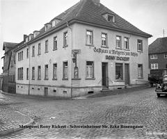Ochsen Gasthaus u. Metzgerei Rony Rickert Schweinheimer Str