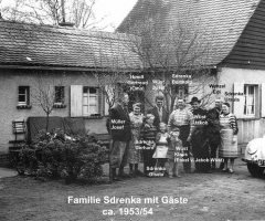 Sdrenka Exe Familie u. Gäste 1953