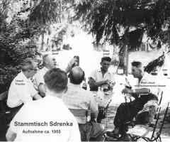 Sdrenka Exe Stammtisch 1955