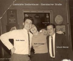 Siedlerklause Ebersbacher Str 1958