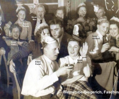 Weinstube Giegerich Fastnacht 1950 (3)