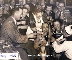 Weinstube Giegerich Fastnacht 1952 (2)