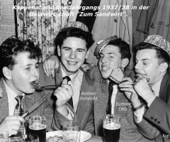 Zum Sandtwirt Kappenabend um 1955