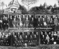 Zur Löwengrube Stammgäste 1938