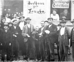 Zur Traube Marienstr spätere Ratsstube 1910