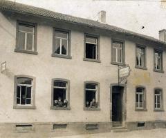 Zur Traube Marienstr spätere Ratsstube 1913