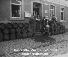 Zur Traube Marienstr spätere Ratsstube 1935